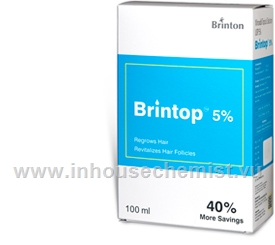 Brintop (Minoxidil 5%) Topical Solution 100ml/Pack